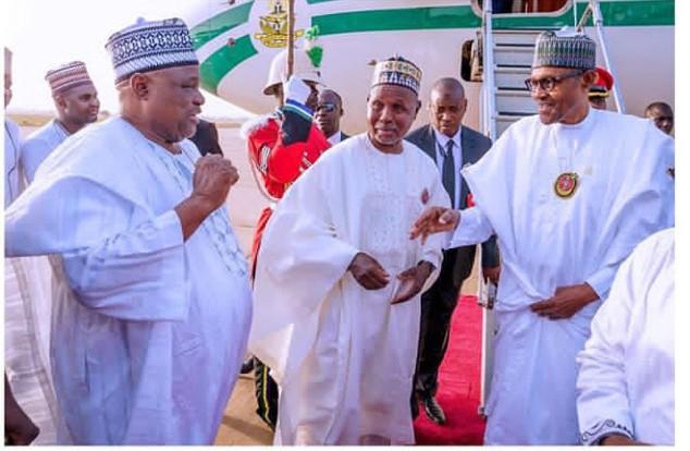 Buhari arrives his hometown, Daura, Katsina State, on a 4-day workingvisit