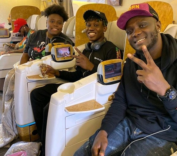 Nigerian Celebrities In Dubai For The OneafricamusicFest 2019 (photos)