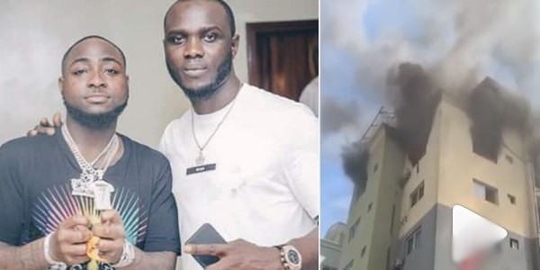 Davido's road manager, Obama loses his apartment to fire