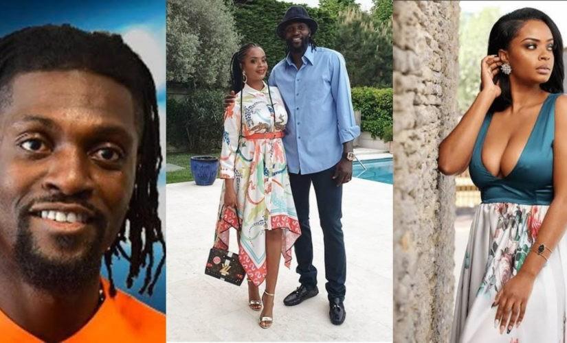 Emmanuel Adebayor splits with his girlfriend DillishMathews