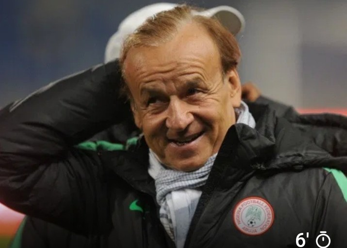 Gernot Rohr recognized among the top twenty national team coaches in theworld