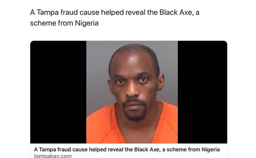 Notorious Nigerian Cultist Jailed In US For $10M WiredFraud