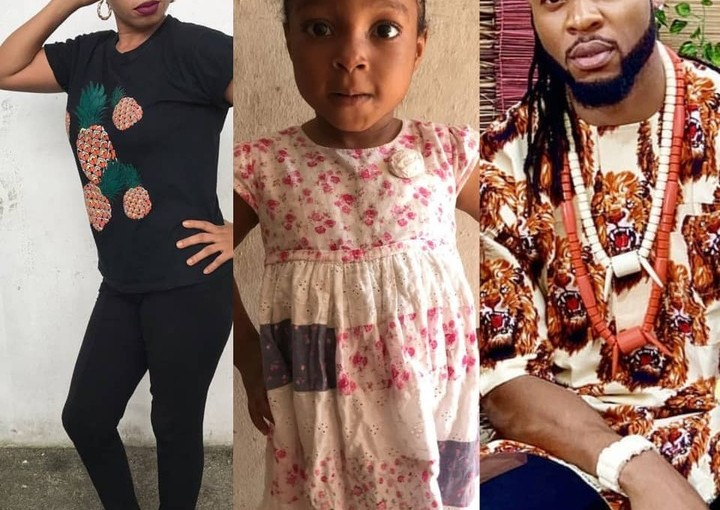 Lady calls out Flavour, Says he's the father of her baby