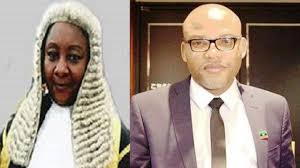 Prison will be the safest place for you – Justice Binta Nyako mocks IPOB leader NnamdiKanu