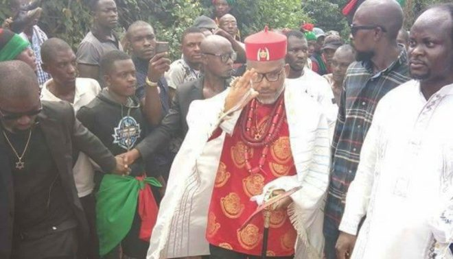 Gov. Umahi Must Pay For Every Single Blood Of IPOB Members Shed In Ebonyi – NnamdiKanu