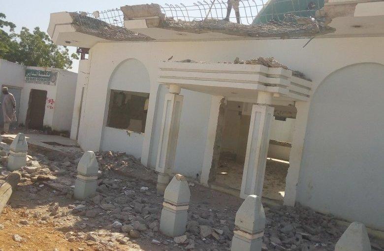 Kaduna Governor El-Rufai,  Demolishes Waff Roadmosque