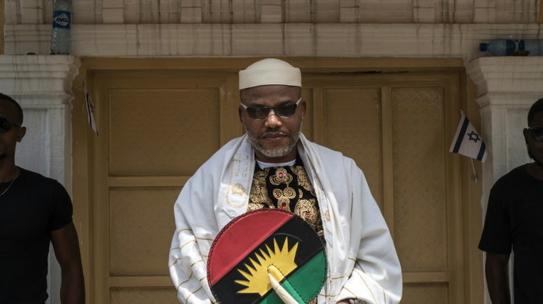 Nigeria sees any call for referendum as a call for war  – Nnamdi Kanu