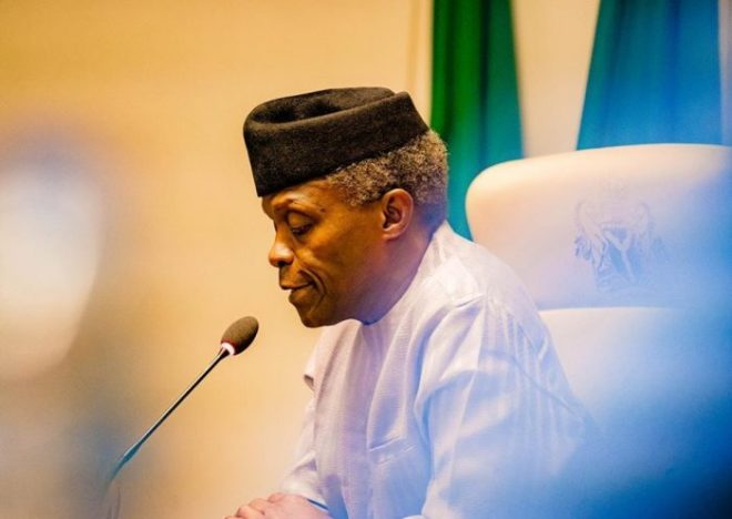You Either Fight Back Or Resign – Arewa Youths BlastsOsinbajo
