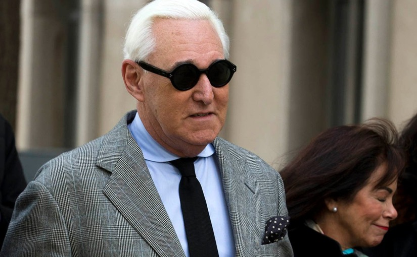 Donald Trump's adviser Roger Stone, Found Guilty On All Charges In Wikileaks Hacking Case