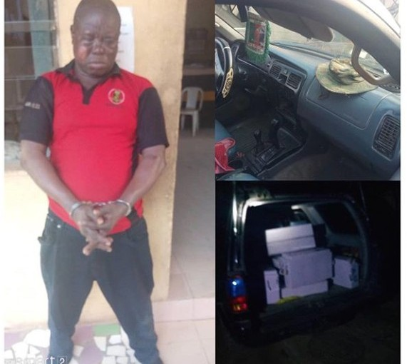 Police Arrests Anglican Knight For Robbery In Lagos(Photos)