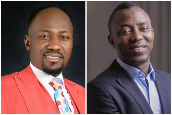 Sowore Rejects Apostle Suleman's  Offer, Standing As HisSurety