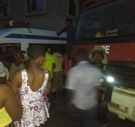 St. Peter's Catholic Church in Anambra burns down, one dead(photos)
