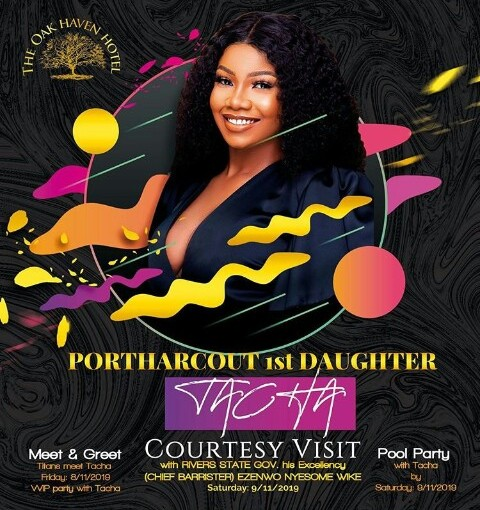 Tacha Finally Welcomed Home In Port Harcourt