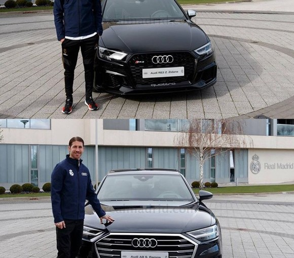All Real Madrid Players Gifted Audi Cars For Christmas
