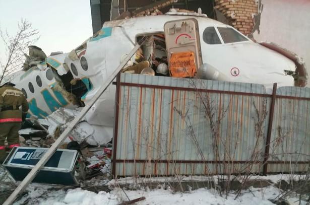 Bek Air Plane Crashes Near Kazakhstan's Almaty