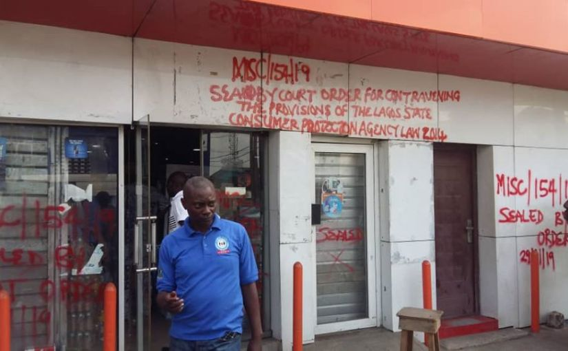 Lagos Government Seals Big Boss Supermarket Over Sale Of Expired Products