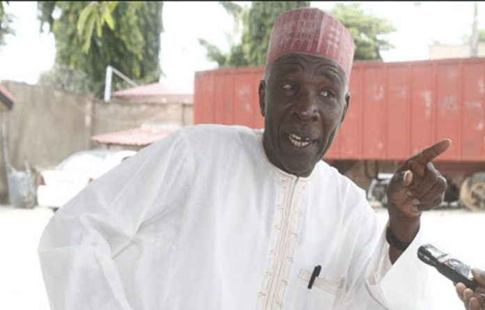 """If they can't do that, let them appoint me chairman of INEC, I will get funding for INEC -Buba Galadima"