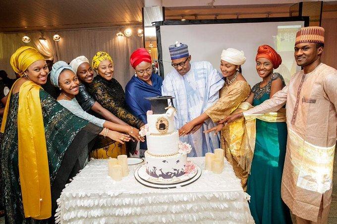 Muhammadu Buhari Celebrates His 77th Birthday At AsoVilla