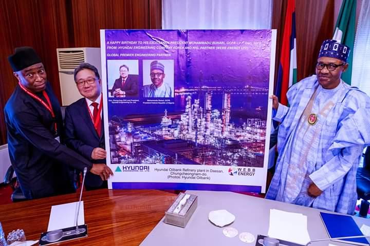 Buhari Agrees With Hyundai To Set Up Car Plant InNigeria