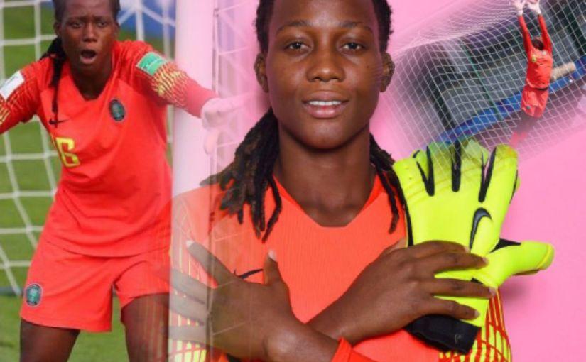 Super Falcons goalkeeper Chiamaka Nnadozie named Africa'sBest