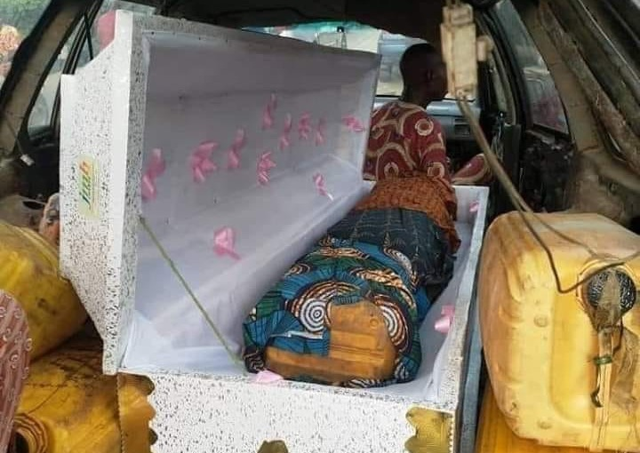 Man caught trying to use coffin to smuggle fuel intoTogo