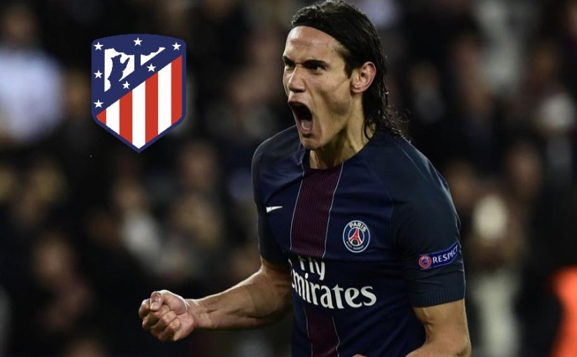 Edinson Cavani Signs A 3-Year Contract With Atletico Madrid