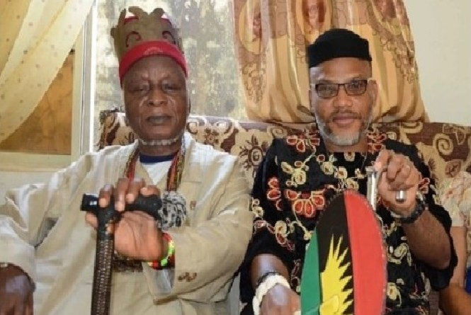 Leader of the Indigenous People of Biafra, Mr Nnamdi Kanu, Loses His Father