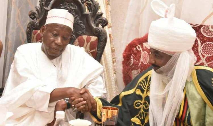 Kano State Governor Abdullahi Ganduje, Appoints Emir Sanusi As Chairman Council Of Chiefs