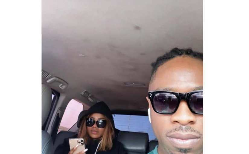 Ike Drives Tacha On Christmas Day, After He Unfollowed Mercy