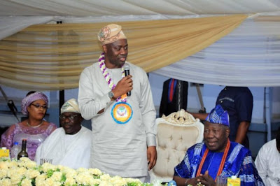 Seyi Makinde Conferred with the title of Jagunmolu Of Ibadanland