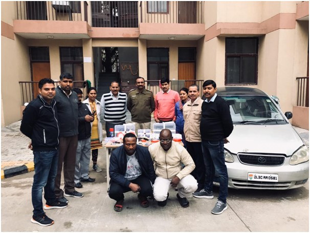 2 Nigerians Arrested In India For ATMCloning