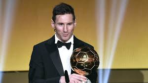 Lionel Messi Wins Balloon D'or2019