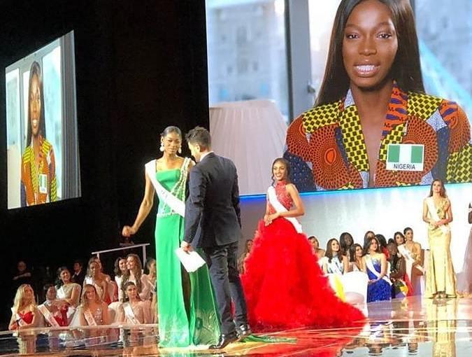 Miss Nigeria 2019, Nyekachi Douglas  emerges Miss Africa2019