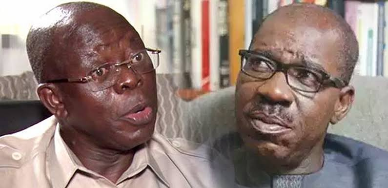 Oshiomhole Rejects Christmas Gifts FromObaseki