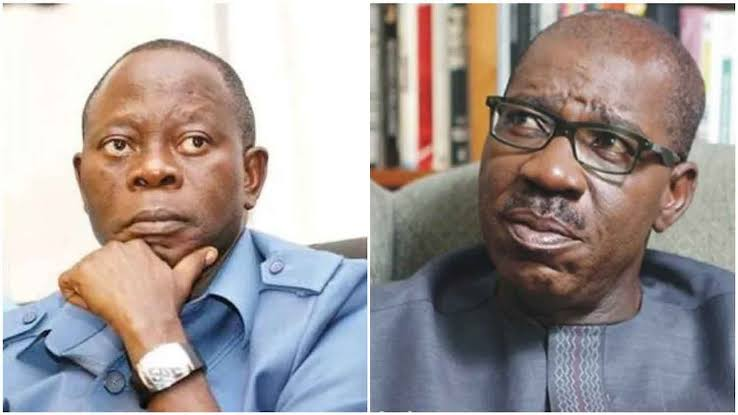 Oshiomhole Compiled List Of Commissioners In His Living Room In 2016 –Obaseki