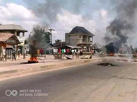 OSPAC Invades Okomoko, Kills 4 People Throws them inside chokocho river in etche LGA, Rivers State (Graphicphotos)