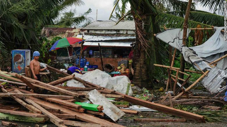 Philippine Typhoon Phanfone: 28 People Killed On ChristmasDay