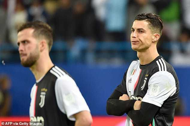 Cristiano Ronaldo Removes Silver Medal After Juventus Lost Super Cup