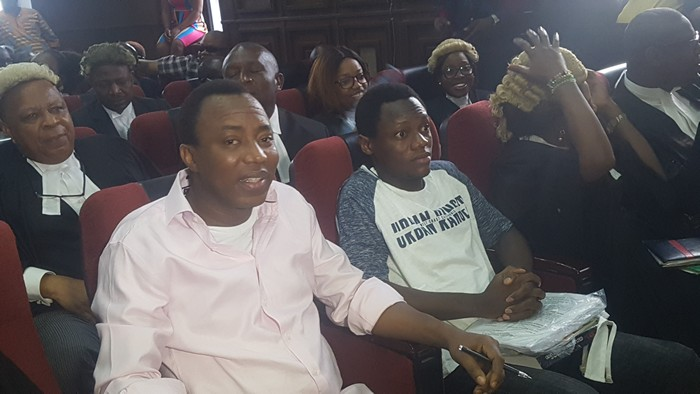 FG Requests Our Transfer To Prison –Sowore