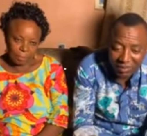 Please Help Me, Release My Son For Me – Sowore's Mother Appeals To Buhari And DSS