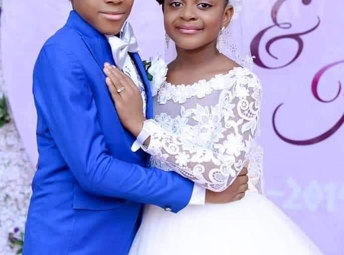 Pine Crest School, Enugu Organises A Wedding Ceremony For Grade 3 Pupils(Photos)