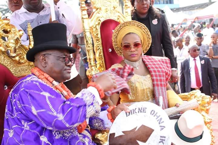 "Governors, Lawmakers, Prominent Rivers Politicians and Traditional Rulers Honour Governor Wike With The Title ""Dike Oha"" Of Ikwerre Ethnic Group"