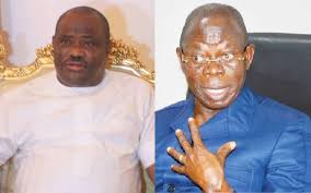 Gov. Wike and Oshiomhole Clashes At A Book Launch In Abuja