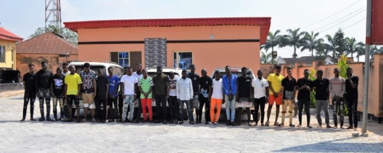 EFCC Arrests Yahoo Kingpin In Lagos And 26Others