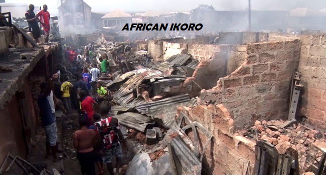 Mgbuka Spare Parts Market On Fire, One Dead Goods Worth Billions Of Naira Destroyed