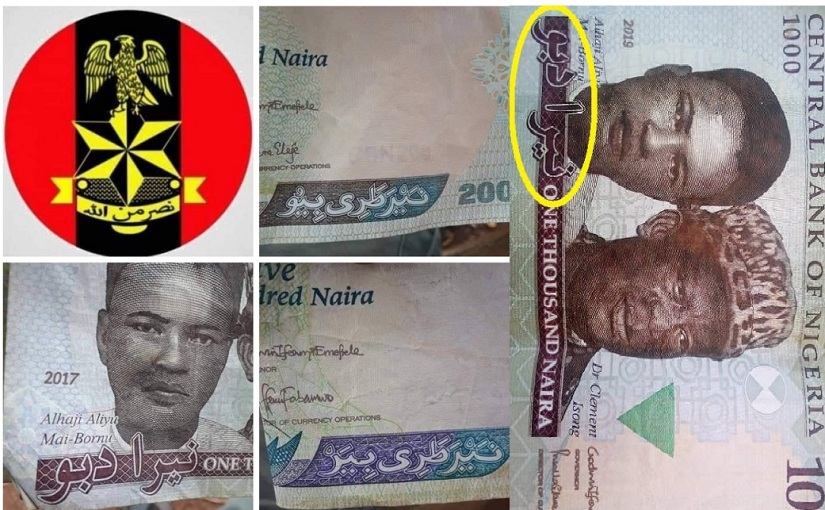 A Human Wright Lawyer Drags FG To Court Over The Use Of Arabic Inscription On Naira And Army logo