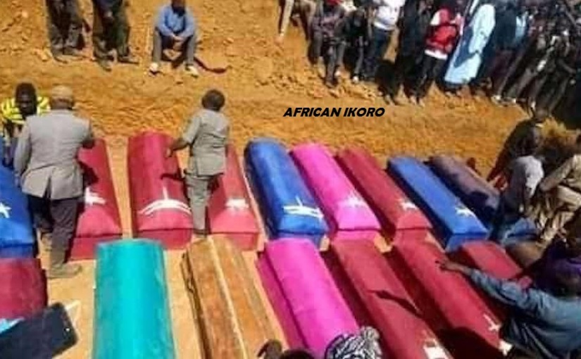 Plateau Killing :: Mass Burial For 23 Persons Murdered