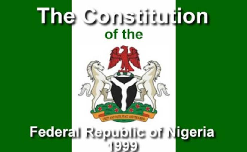 Outline And Discuss The Defects Of 1999 Constitution Of The Federal Republic Of Nigeria