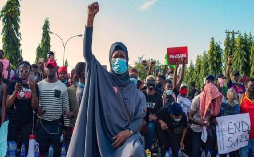 Aisha Yesufu Lambasts Buhari For Threatening #EndSARSProtesters